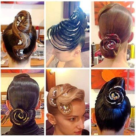 gallery for ballroom dance competition hairstyles 167 best ballroom hair makeup and accessories images on
