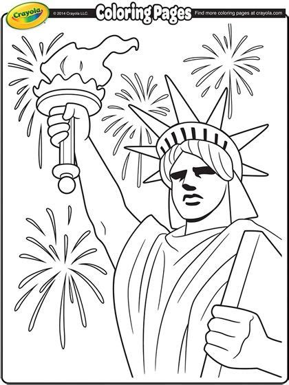 crayola coloring pages 4th of july check out this great patriotic lady liberty printable