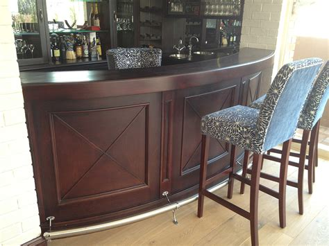 Handmade Shoo Bar - custom built bar retail shop fitters