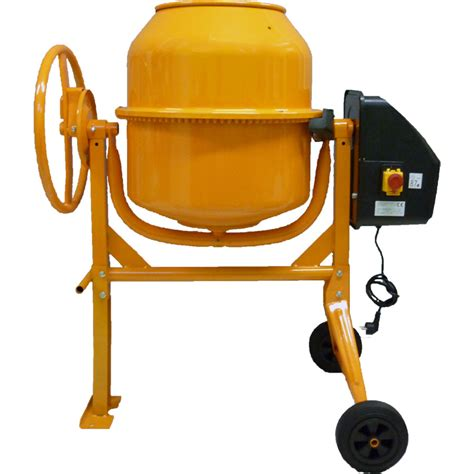 Mixer Lifier 120 Watt 120l concrete cement mixer portable electric 550w mortar