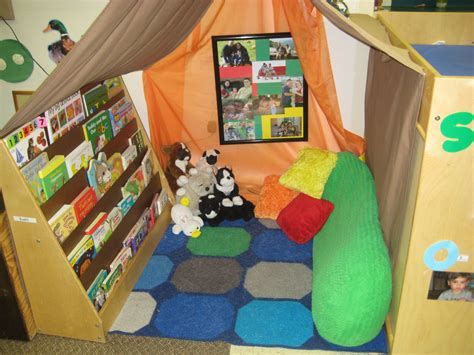 toddler daycare room ideas cozy reading spot in a toddler classroom from raleigh court presbyterian preschool reading