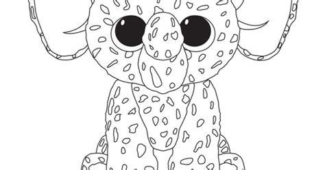 ellie elephant coloring page print ellie beanie boo coloring pages beanie boo