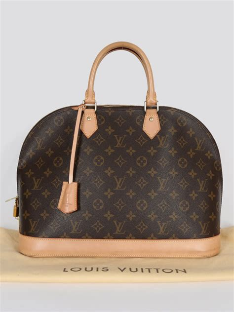 louis vuitton alma gm monogram canvas luxury bags