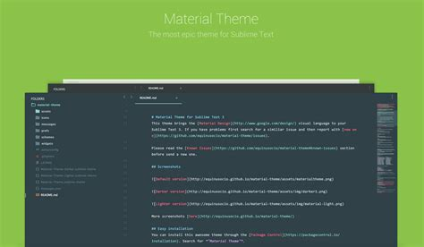material theme for sublime text 3 materialup material theme for sublime text 3 uplabs