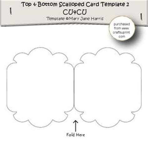 top fold card template envelope flap tri fold card template 1 cu4cu cup341126