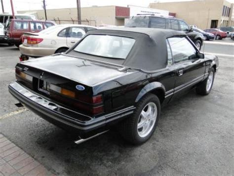 1984 Ford Mustang Lx Convertible For Sale In San Antonio