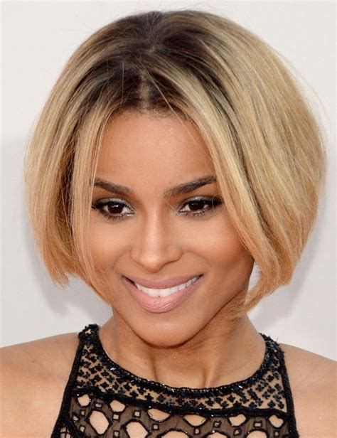 bob haircuts with center part bangs 22 ciara hairstyles ciara hair pictures pretty designs