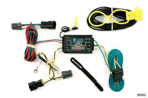 kia sedona 2006 2012 wiring kit harness curt mfg 55503