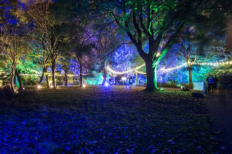 Botanic Lights At The Royal Botanic Gardens Edinburgh Botanic Gardens Lights