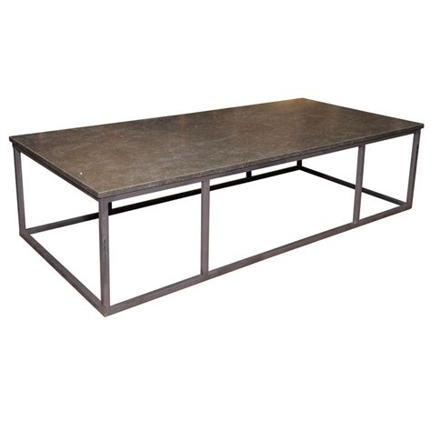 sleek and iron coffee table for sale antiques