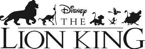 Hakuna Matata Wall Stickers the lion king logo by pallie bechtelar escritorio