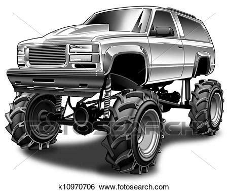 mud truck clip 4x4 mud truck drawings bing images