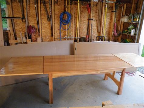 dutch pullout dining room table finewoodworking