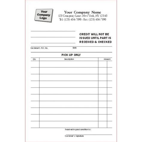 Credit Note Form No 9 Receipt Forms Standard Forms