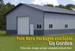 barn prices pole barn package price quotes