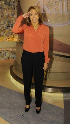 katie couric favorite things katie couric wore a theyskens theory blouse and an elie