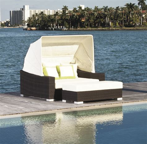 Outdoor Pool Bed by Vegas Outdoor Pool Day Bed With Canopy