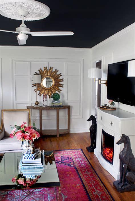 The Hunted Interior by Hunted Interior Black White Bold Living Room Reveal