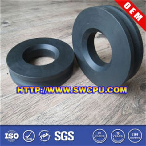 china all color plastic pa pu roller pulley for wire