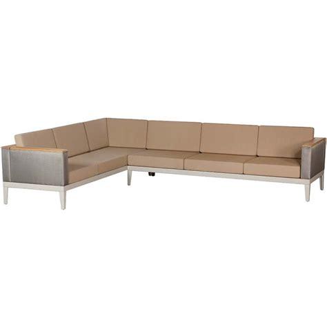 deep corner sofa barlow tyrie aura modular deep seating 6 seater corner