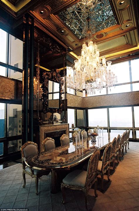 Trump Gold Apartment over the top their apartment in trump tower features ornate hand