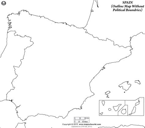 coloring page map of spain blank coloring map of spain outline grig3 org