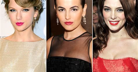 camilla belle on taylor swift bold lipstick best of 2011 biggest beauty trends us