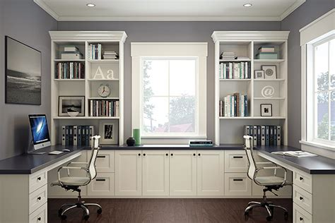 Home Office Design Built In Home Office Built In Office Organized Interiors Home