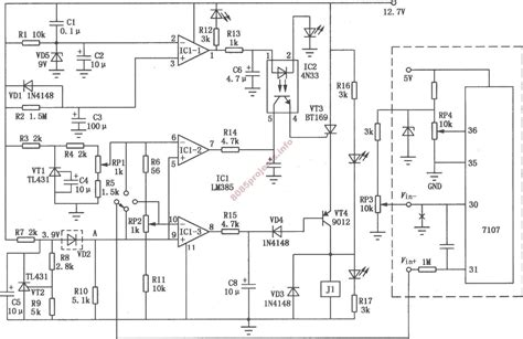 electronic thermostat schematic electronic get free