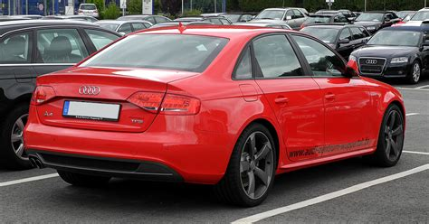 Audi A4 S Line 2011 by Datoteka Audi A4 Tfsi S Line B8 Heckansicht 13 Juni