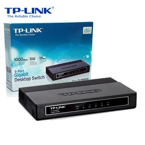 Tp Link Tl Sg1005d 5 Port Gigabit Desktop Switch switches startech computers