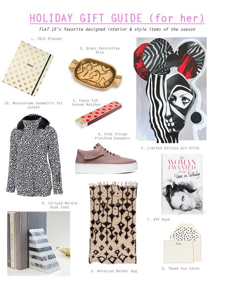 gift guide for gift guide for flat 15 lifestyle design