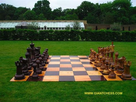 outdoor chess board   checkers   played