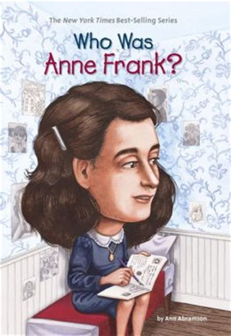 biography of anne frank book who was anne frank by ann abramson 9781101099650 nook