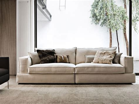 sofa couch design modular system of sof in fabric or leather idfdesign