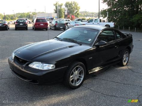 1997 ford mustang coupe 1997 black ford mustang gt coupe 52971968 gtcarlot