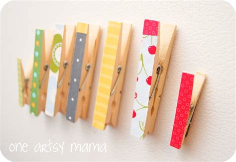 Project 3 Diane Clothespin by 20 Projects To Make Decorating Crafts