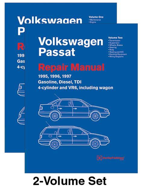 book repair manual 1994 volkswagen passat auto manual bentley service manual volkswagen passat b4 1995 1997 hardcover 2 volume set pelicanparts com