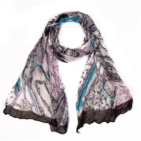 6 color winter scarf brand designed for