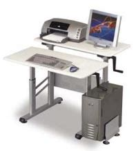 Balt Split Level Workstation 72 Desk by Balt Ergonomic Furniture Heavy Duty Workstations And Desks