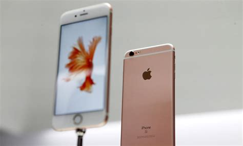 pink iphone 6s and 6s plus prove popular as record weekend sales expected technology news the