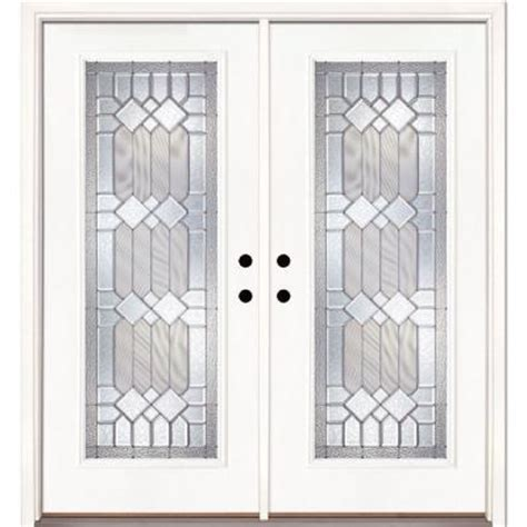 Feather River Doors 66 In X 81 625 In Mission Pointe Home Depot Front Doors With Glass