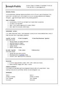 template for a cv cv templates the lighthouse project