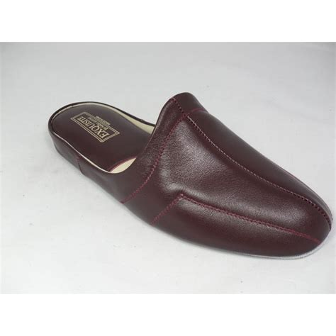 leather slippers relax slippers relax mens wine 7120 leather slippers