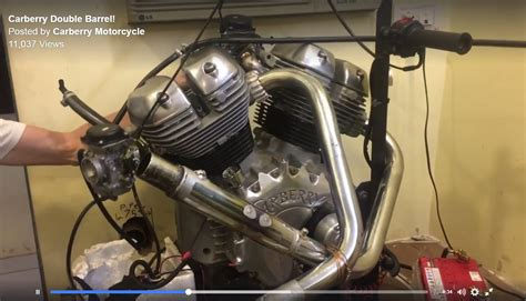 Motor Royal Enfield carberry motorcycle reveals new fuel injected 1 000 cc