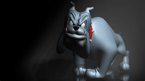 imagenes bacanas en 3d cartoon bulldog 3d full hd wallpaper and background