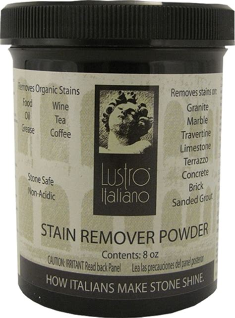How To Get Wine Stain Out Of Granite Countertop by Tenax Lustro Italiano Stain Remover Poultice Powder