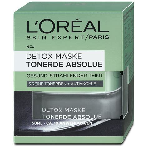 L Oréal Detox by L Or 233 Al Skin Expert Detox Maske Tonerde Absolue