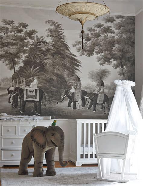 elephant wall mural australia living tour these 10 safari decor inspired spaces