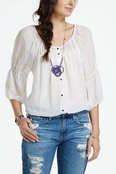 Silvi Blouse peasant blouse boho and blouses on